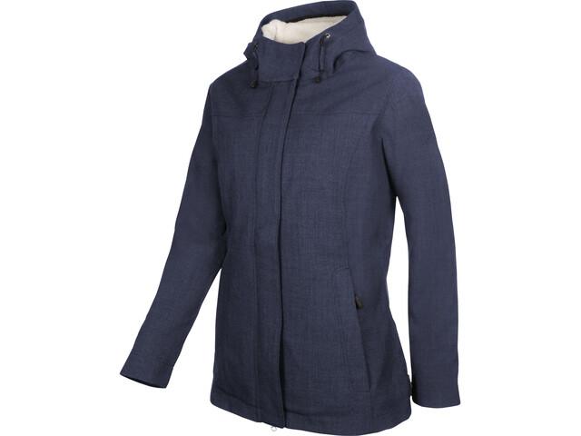 Elkline Short Cut Winter Jacket Damen bluemelange